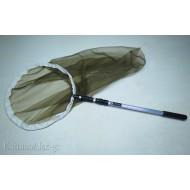 SET COMPLETO retino entomologico manico telescopico alluminio
