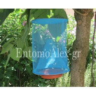 24x35 hanging mesh trap for alive Flies Drosophila