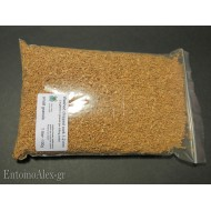 100g  washed chipped cork 1-2mm granulate for killing jars