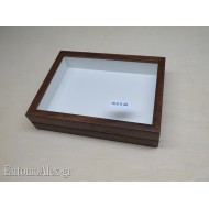 wooden box  19,5x26 BROWN