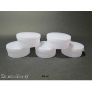 5x round press cap containers 20g