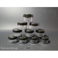 10x round screw cap containers 5g
