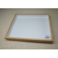 wooden box  40x50 CLEAR