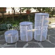 3 SIZES pop up basket round Butterfly Mantids breeding cage
