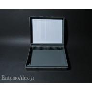 laboratory microscopy box x25 samples glass slides