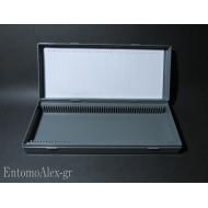 scatola portavetrini microscopio x50 campioni