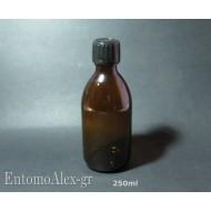 bottiglie flaconi vetro ambra 250ml