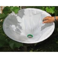 conical beating sheet Ø60cm umbrella WHITE