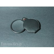 5x pocket loupe magnifier foldable glass lens