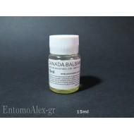 15ml canada balsam fir gum genitalia mounting medium