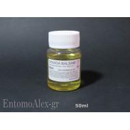 50ml canada balsam fir gum genitalia mounting medium lens optics