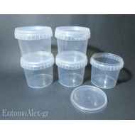 1x   365ml wide mouth push cap containers