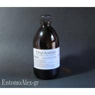 Ethyl Acetate 500ml killing fluid bottle