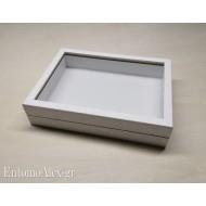 wooden box  23x30 WHITE