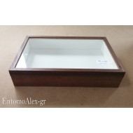 scatola entomologica legno 26x39 CHIARA 8cm