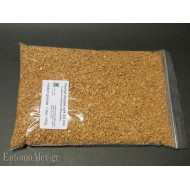 100g  washed chipped cork 3-4mm granulate for killing jars
