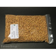 100g  5-8mm  washed chipped cork granulate for killing jars