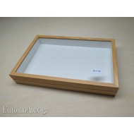 wooden box  26x39 CLEAR
