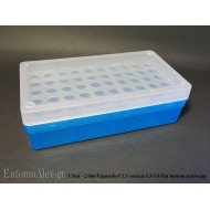 laboratory BLUE rack box x50  1.5-1.8ml freezing tubes