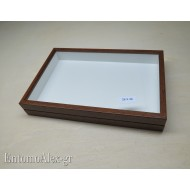 wooden box  26x39 BROWN