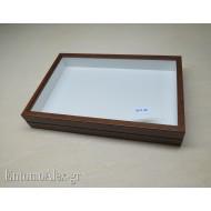 wooden box  26x39 BROWN