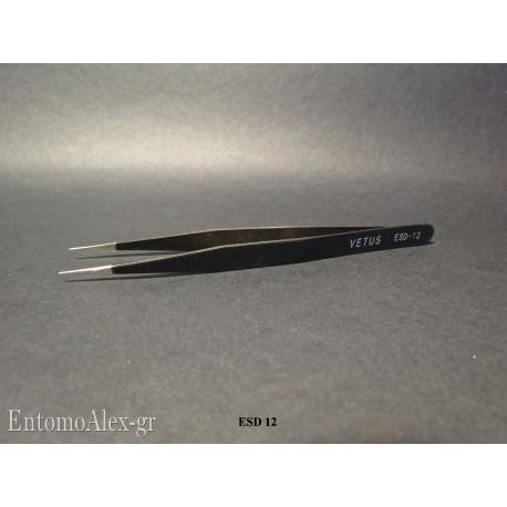 VETUS ESD 12 ultrafine tip black handed