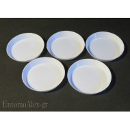 5x  cleaning micro round dishes