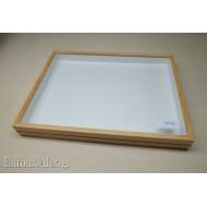 entomological wooden box  39x52 CLEAR