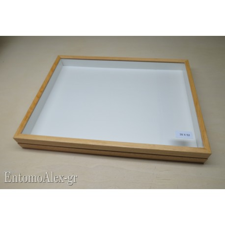 wooden box  39x52 CLEAR