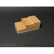 3 steps wooden pinning block