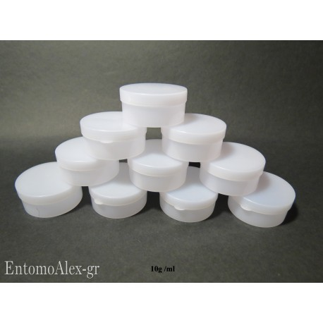 10x round press containers 10g