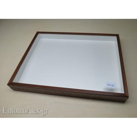 wooden box  39x52 BROWN