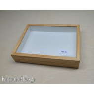 wooden box  23x30 CLEAR