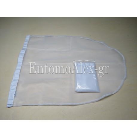 BUTTERFLY NET BAG WHITE 38x76