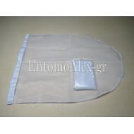BUTTERFLY NET BAG WHITE 40x80