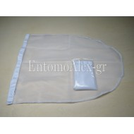 BUTTERFLY NET BAG WHITE 60x120
