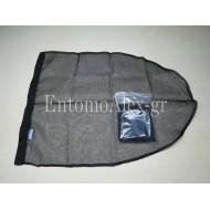 BUTTERFLY NET BAG BLACK 60x120