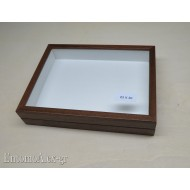 wooden box  23x30 BROWN