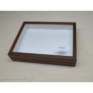 entomological wooden box  23x30 BROWN