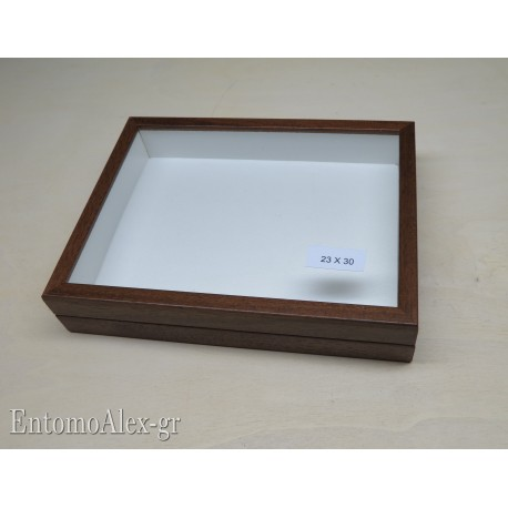 wooden box  23x30 BROWN
