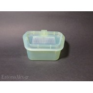 1x meshed container for collecting alive beetles