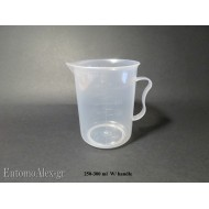 250-300ml HANDED measuring graduated beaker