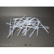 0.5ml disposable plastic pasteur pipette