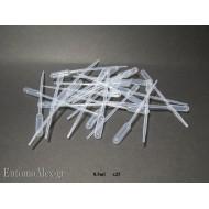 0.5ml disposable plastic pasteur pipette