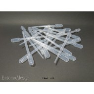 2ml disposable plastic pasteur pipette