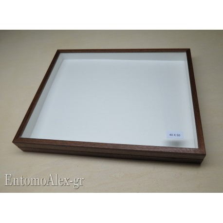 wooden box  40x50 BROWN